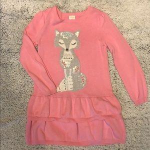 Gymboree sweater dress size 6